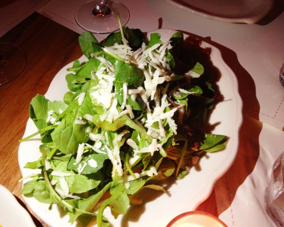 bar primi - arugula salad