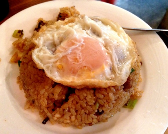 indonesian fried rice was so good, we almost ordered another