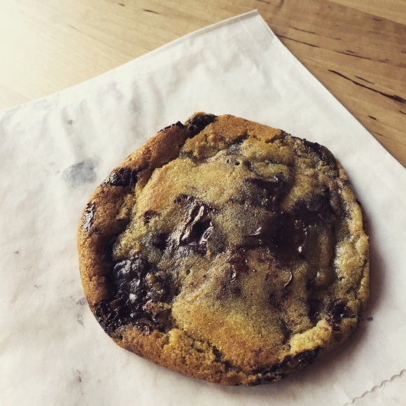 please and thank you - chocolate chip cookie