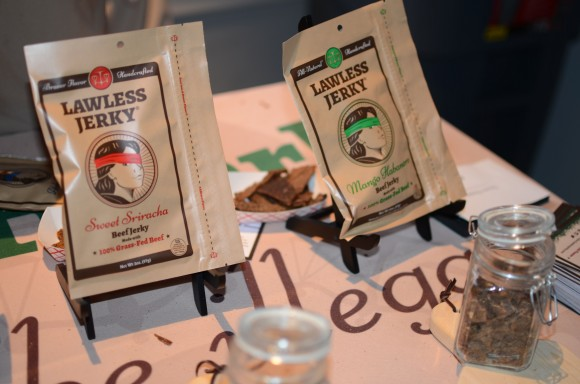 the samples at lawless jerky