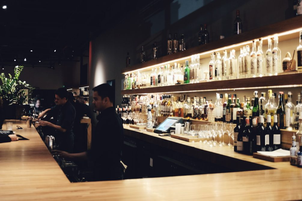 the bar at cosme