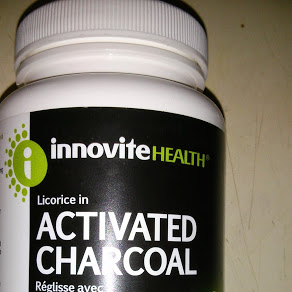 Charcoal with Licorice - Holiday Hacks