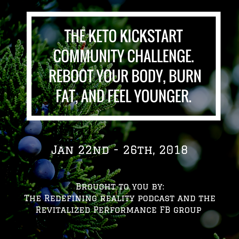 The Keto Quickstart Community Challenge. Reboot Your Body, Burn Fat, and Feel Younger.