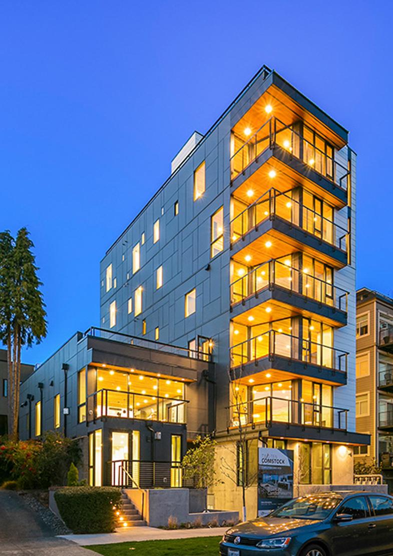 Two Ten Comstock – 8 Condominiums