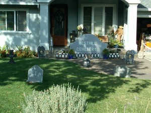 Westhill Cemetery 300x225 - Halloween in Surmont, Belgatos and Belwood of Los Gatos
