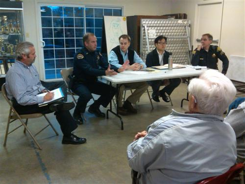 Panel - Neighborhood meeting to discuss explosion: more questions than answers