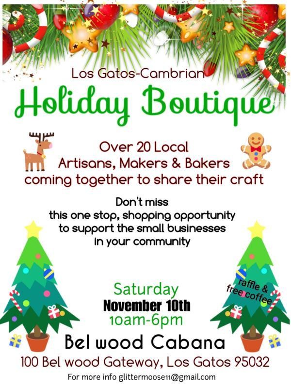 Holiday Boutique - Belwood Cabaña Club Holiday Boutique