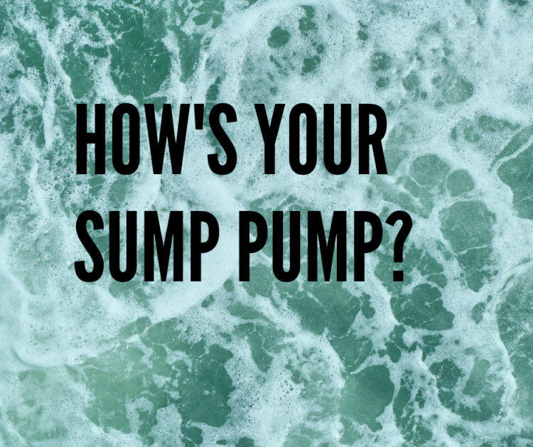 Hows your Sump Pump  750x629 - Is your sump pump ready for winter rains?