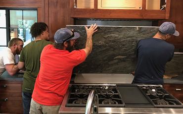 Sierra Soapstone Working together Remodeling a Kitchen