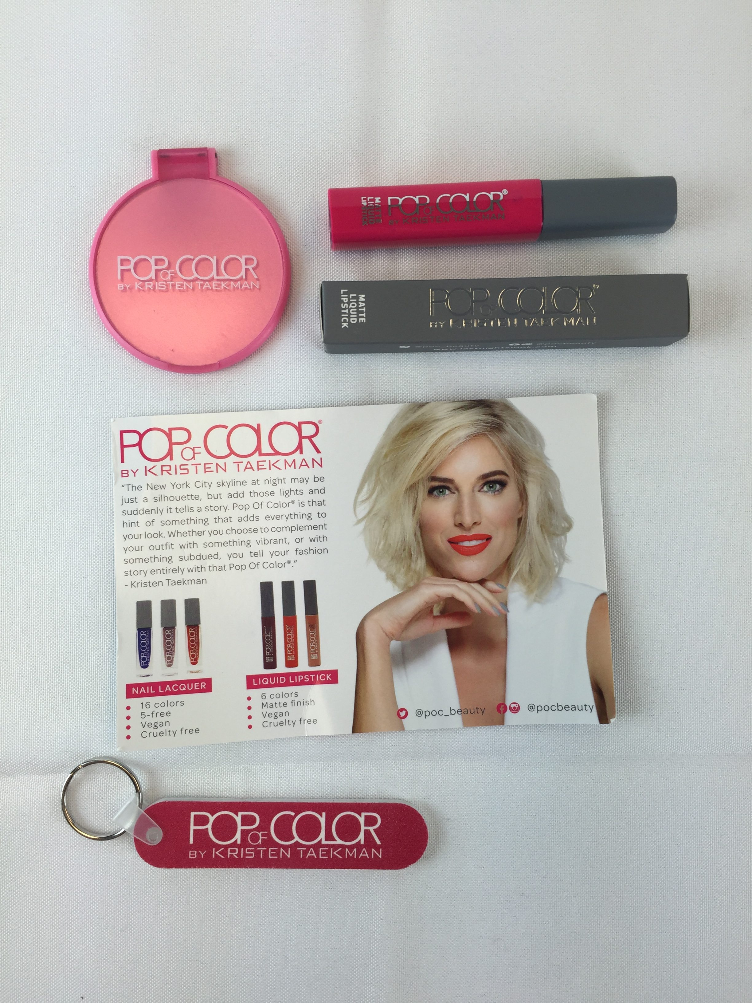 October Must-Have Nail Polish: Pop of Color by Kristen Taekman