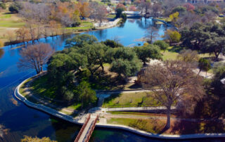 Picture of Landa Park, New Braunfels.