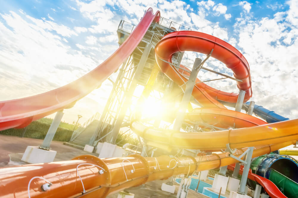 Picture of New Braunfels Water Park.