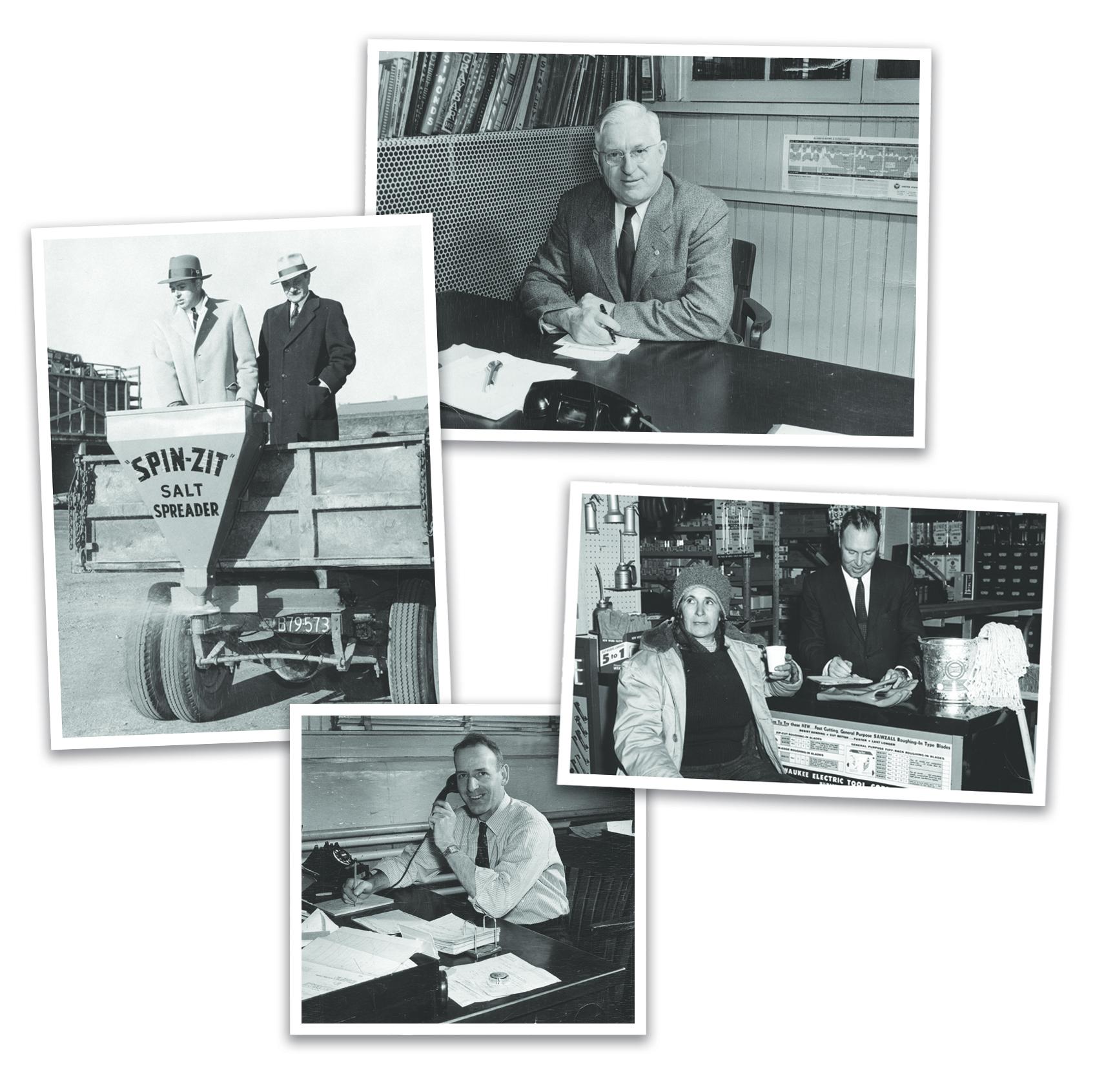 vintage photo collage