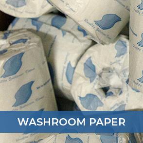 washroom paper