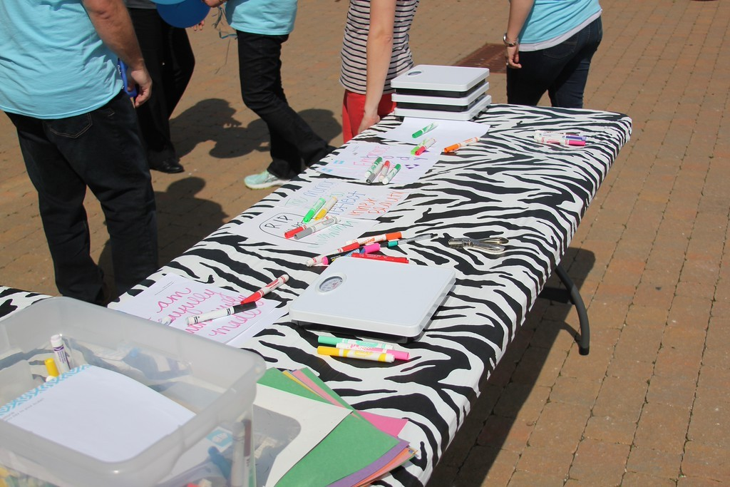 Southern Smash is an organization that raises eating disorder awareness by hosting their signature scale smashing events.