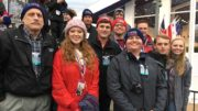 GWU College Republicans at the 2017 Presidential Inauguration