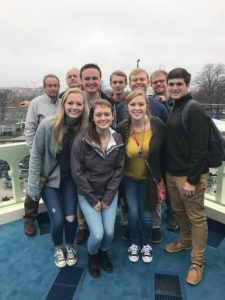College Republicans at Trump's Presidential Inauguration