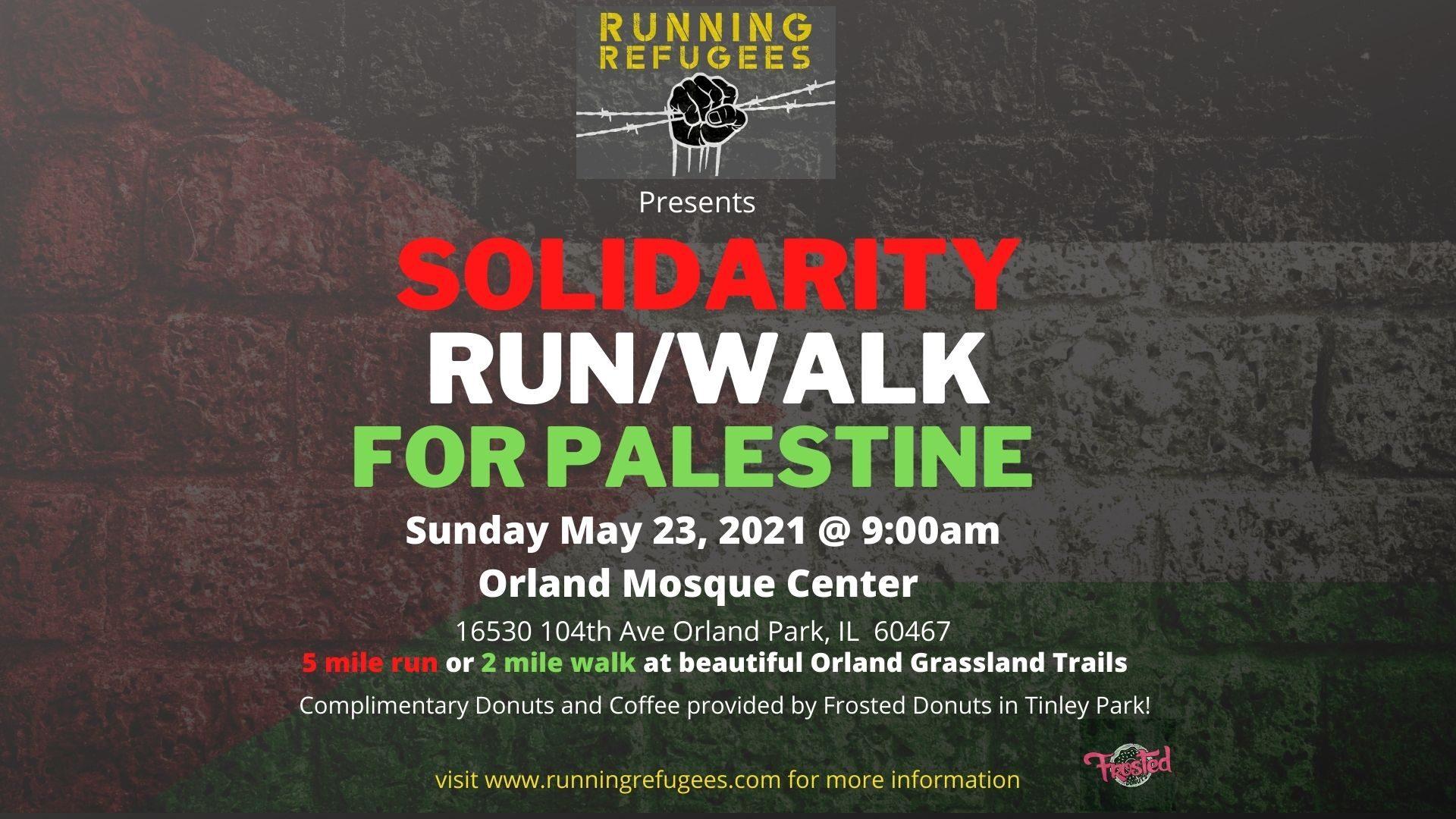 Solidarity Run/Walk Sunday May 23rd!