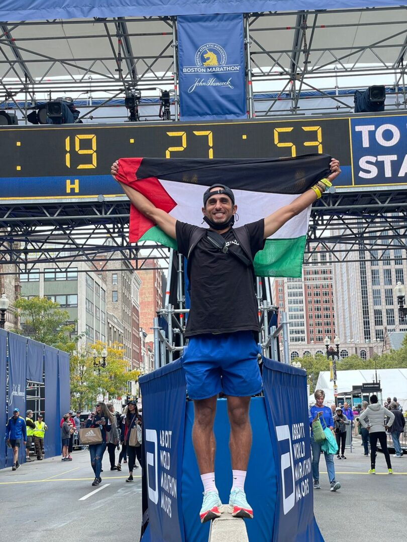 Fastest Man In Palestine To Run for the Refugees