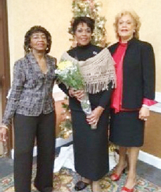 Janice Burk, Saundra Butcher, and Francine McLaughlin