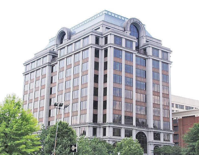 Norfolk Southern's Roanoke office building at 110 Franklin Road SE.