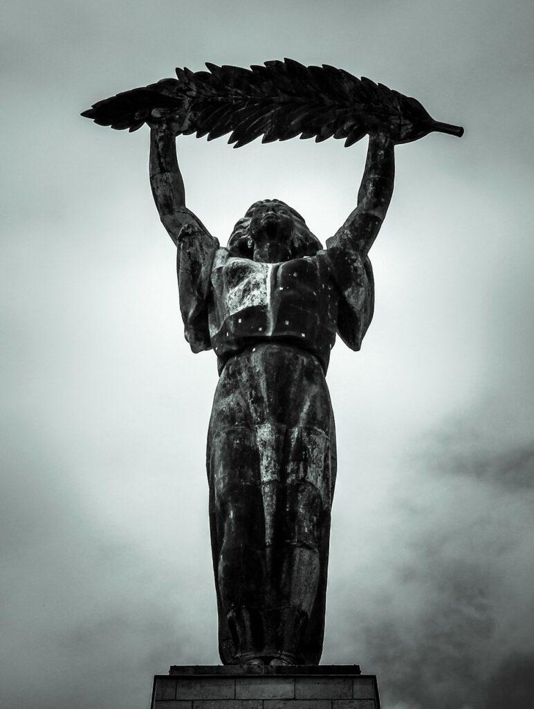 statue, bronze, bronze statue