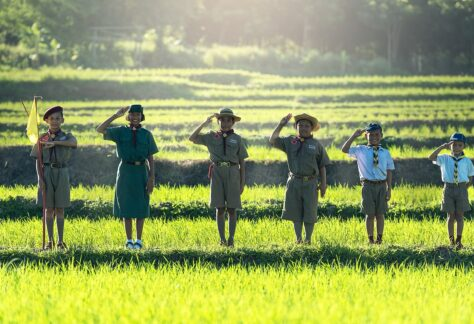 boys, scout, scouting