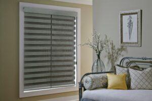 custom pleated window shades