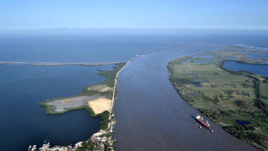 Dragado Canal puerto de barranquilla