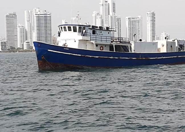 """Bitácora del """"Susurro"""", el barco colombiano infectado de COVID"""
