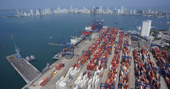 Terminal de contenedores de Cartagena