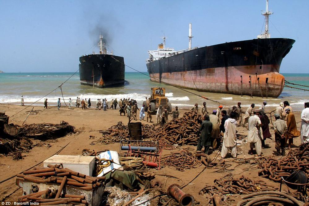 desguace de buques