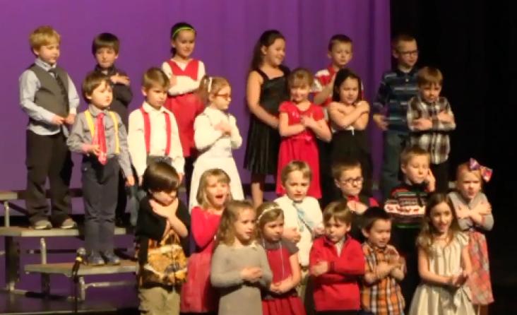 Hyde Park Elementary School K-3 Holiday Concert, 2015
