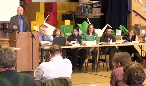 Johnson Town Meeting School Board Part 2