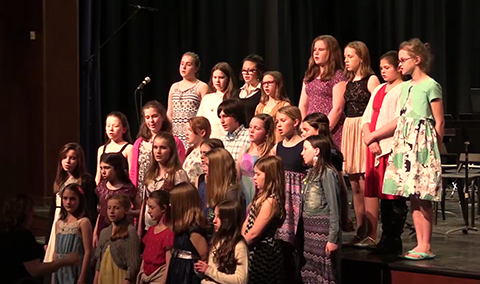 Lamoille North Supervisory Union Elementary Music Festival, 2016