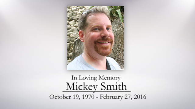 Mickey Smith, A Celebration of Life Memorial Service