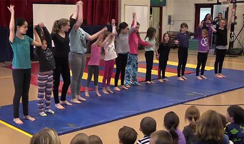 Hyde Park Elementary Gymnastics 4/29/16
