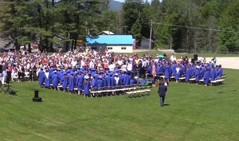 Lamoille Union High School Graduation, 2016