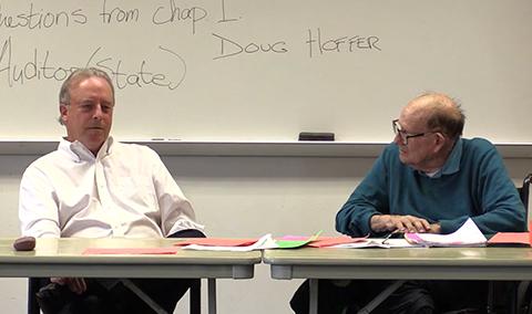 Vermont Politics Speaker Series, State Auditor Doug Hoffer