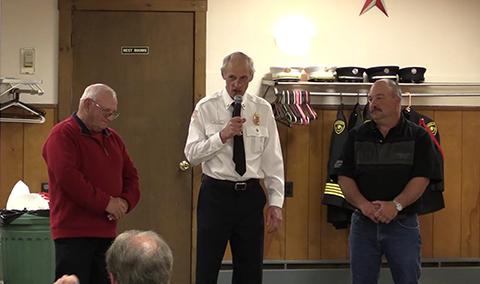 Firefighter Retirement Celebration