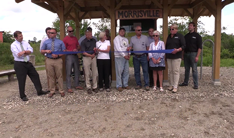 Lamoille Valley Rail Trail Ribbon Cutting