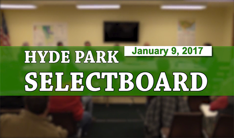 Hyde Park Selectboard, 1/9/17