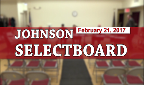 Johnson Selectboard 2/21/17