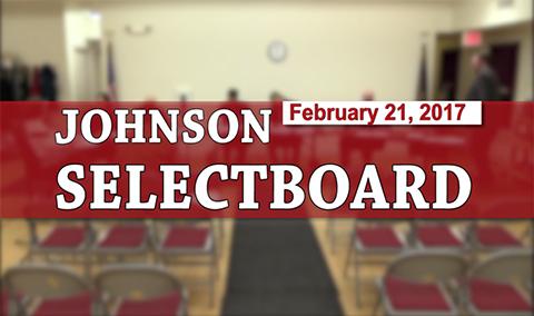 Johnson Selectboard 2/21/17