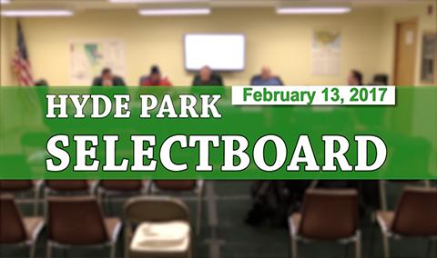 Hyde Park Selectboard, 2/13/17