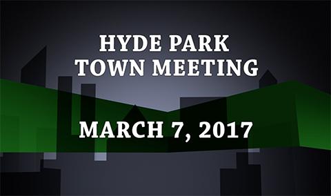 Hyde Park Town Meeting, 2017