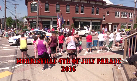 Morrisville Vermont 4th of July Parade, 2016