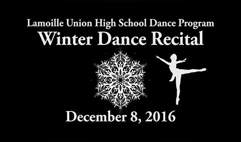 Lamoille Union High School Dance Winter Recital, 2016