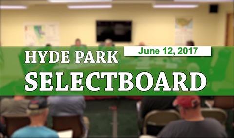 Hyde Park Selectboard, 6/12/17