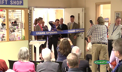 Copley Hospital, James and Mary Louise Carpenter Surgical Center Ribbon Cutting Ceremony